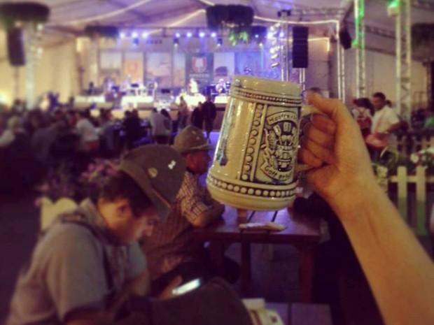 Oktoberfest encerra no domingo (20) (Foto: Oktoberfest/Divulgação)