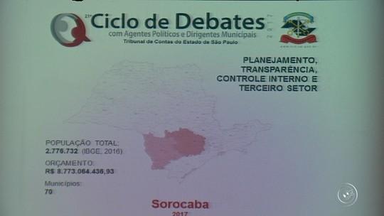 TCE aponta irregularidades nos serviços públicos na região de Sorocaba e Itapetininga