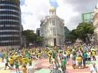 No Recife, ato pelo impeachment reúne manifestantes no Marco Zero