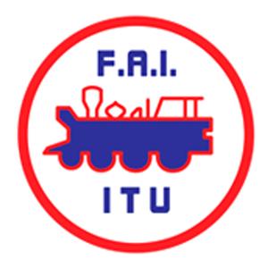 Escudo do Ferroviário Atlético Ituano (Foto: Arte: Eduardo Teixeira/GloboEsporte.com)