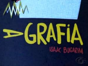 Livro 'Agrafia' de Isaac Bugarim (Foto: Reprodução/TV Gazeta)