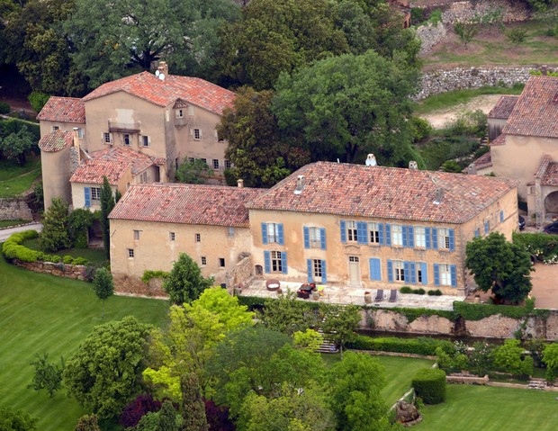Chateau Miraval (Foto: AFP/ Agência)