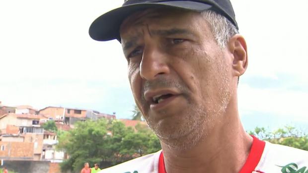 Barbosinha, técnico do Bahia de Feira e do Juazeirense (Foto: Reprodução SporTV)