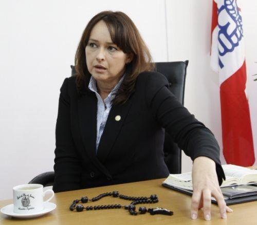 Foto (Foto: A deputada Myrian Rios não quis comentar as acusações (Foto: Arquivo/Simone Marinho))