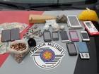 Irmãos são detidos com drogas e munições em Bauru