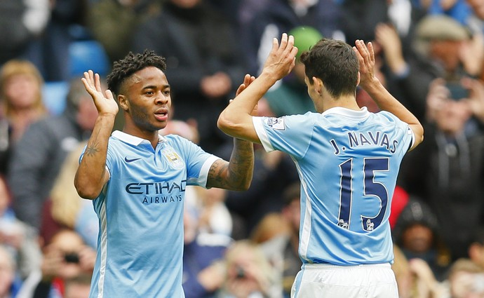 Sterling Manchester City x Bournemouth  (Foto: Reuters)