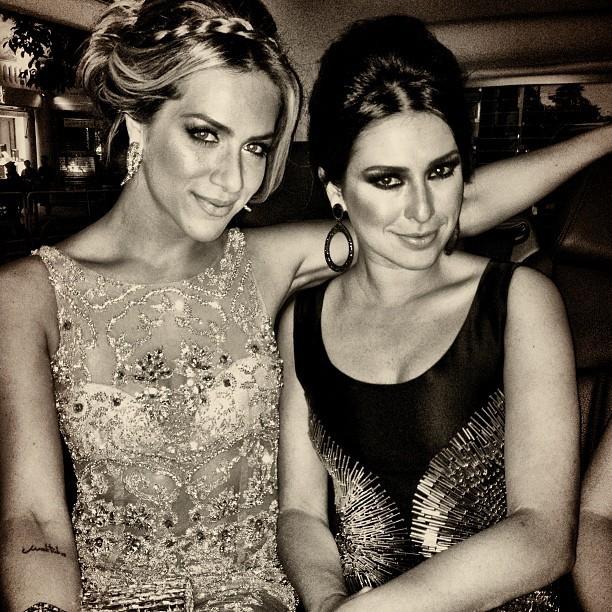 Bruno Gagliasso postou uma foto de Giovanna Ewbank e Fernanda Paes Leme (Foto: Reprodução/Instagram)
