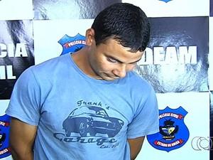 Wilson Bicudo é acusado de perfurar os olhos da ex-companheira (Foto: Reprodução/TV Anhanguera)
