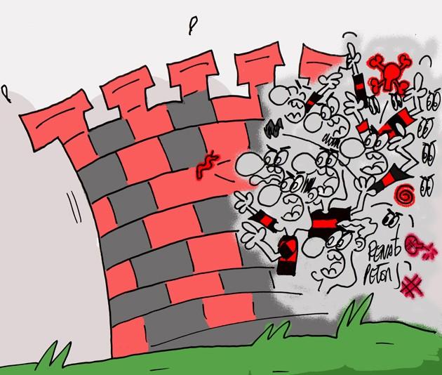 """BLOG: """"Muralha"""" das lamentações"""