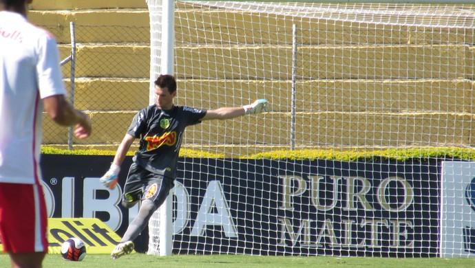 Vagner, goleiro do Palmeiras emprestado ao Mirassol (Foto: Marcos Antonio de Freitas/ Divulgação)