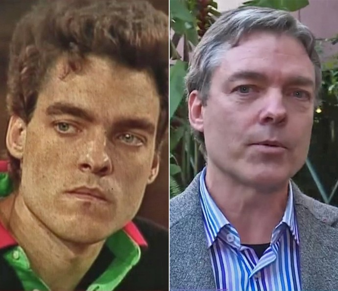 Antes e depois de Paulo Castelli (Foto: Vídeo Show / TV Globo)