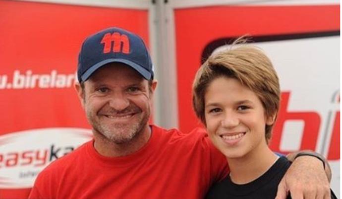 Rubens e Dudu Barrichello disputarão juntos as 500 milhas de kart (Foto: Divulgação)