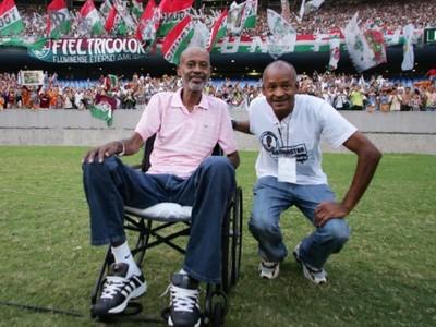 Washington ficará para sempre no coração dos tricolores (Foto: Divulgação/Fluminense)
