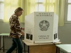 Urnas eleições - Gnews (Foto: reprodução GloboNews)