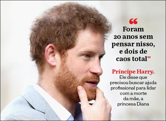 Frases da semana Principe Harry (Foto: Época)