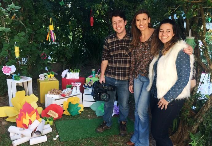 Mistura SC entra no clima das festas juninas (Foto: RBS TV/Divulgação )