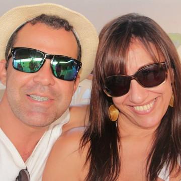 Samuel e a namorada Gerlane Bacellar  (Foto: Arquivo Pessoal)