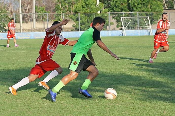Jogo treino Flamengo-PI - 040217 (Foto: Érica Paz/Fla-PI)