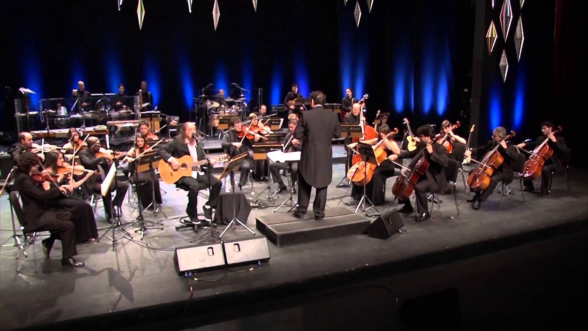 Alceu Valença e orquestra Ouro Preto (Foto: Divulgação)