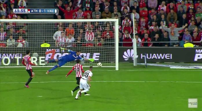 De Paul gol Valencia Athletic Bilbao