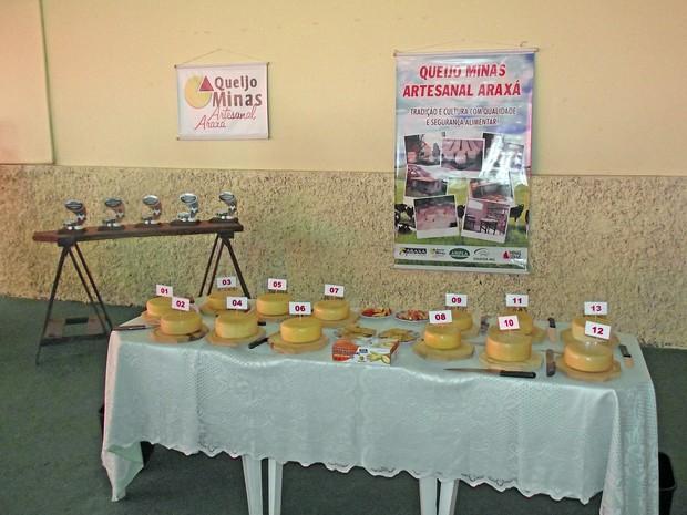 Vencedores estão classificados para o Concurso Estadual do Queijo Minas Artesanal (Foto: Emater-MG/Divulgação)