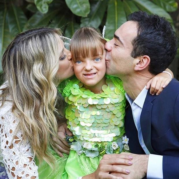 Ticiane Pinheiro, Rafaella Justus e Cesar Tralli (Foto: Reprodução/ Instagram)