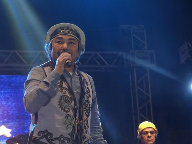 Santanna, o cantador (Foto: Jaqueline Almeida/ G1)