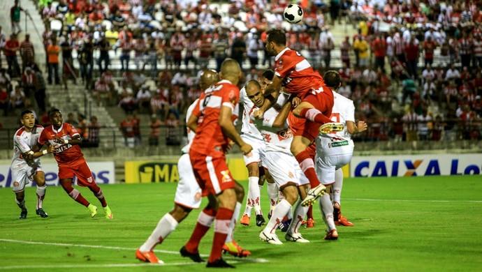 CRB x América-RN, no Rei Pelé (Foto: Ailton Cruz/Gazeta de Alagoas)