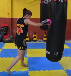 Amanda Barbosa, lutadora MMA (Foto: Murilo Lima)