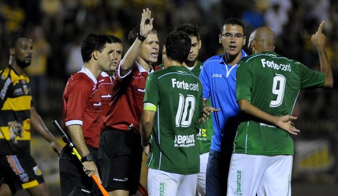 Fumagalli Nunes Novorizontino x Guarani (Foto: Rodrigo Villalba / Memory Press)