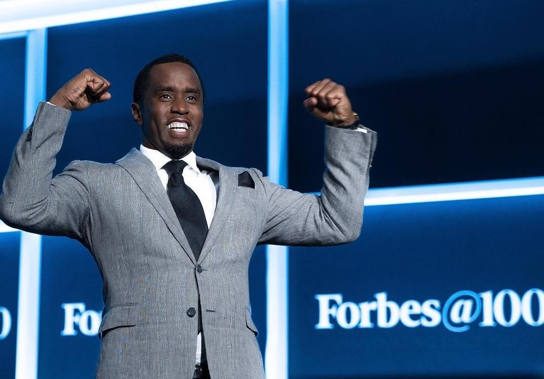Diddy  o homem mais bem pago do hip hop, segundo a revista Forbes (Foto: Reproduo/Instagram/@diddy)