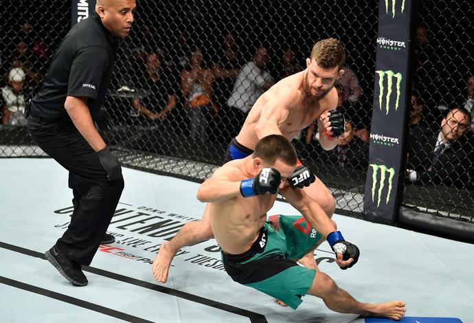 Dustin Ortiz x Hector Sandoval UFC México (Foto: Getty Images)