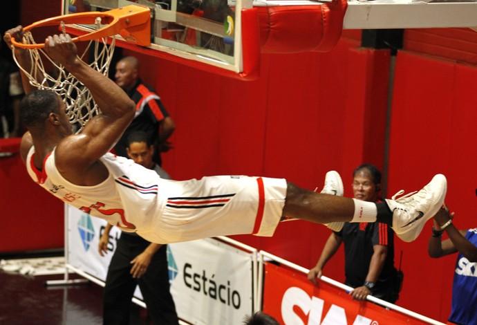 Flamengo x Rio Claro - basquete NBB - Meyinsse  (Foto: Gilvan de Souza / Flamengo)