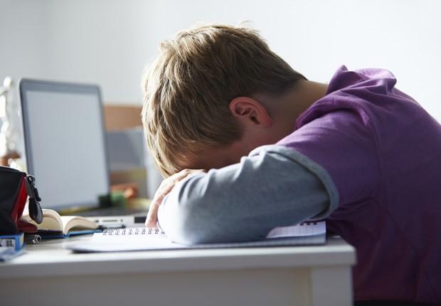 Bullying, criança triste, escola (Foto: Thinkstock)