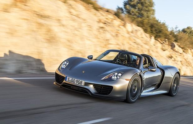 Porsche 918 Spyder (Foto: Divulgação)