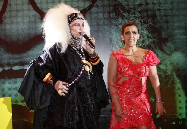 Elke Maravilha e Rita Cadillac (Foto: Celso Tavares / Ego)