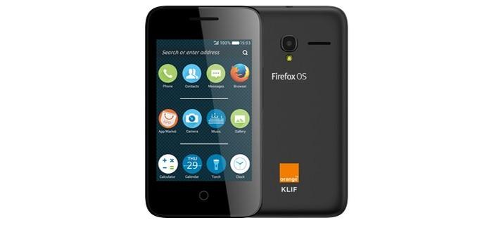Alcatel Klif é um smartphone de entrada (Foto: Divulgação)