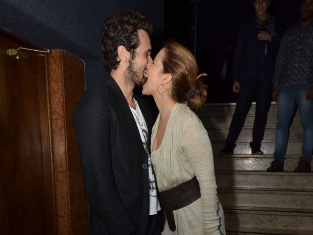 Paloma Duarte e Bruno Ferrari em evento no Rio (Foto: Léo Marinho/ Ag. News)