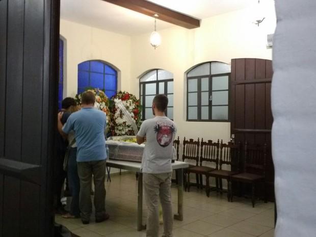 Corpo de Geraldo Roca é velado em Campo Grande (Foto: Juliene Katayama/G1 MS)