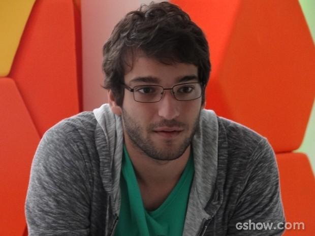 Davi entra na tela de Manu e conversa com engenheira (Foto: Geração Brasil/TV Globo)