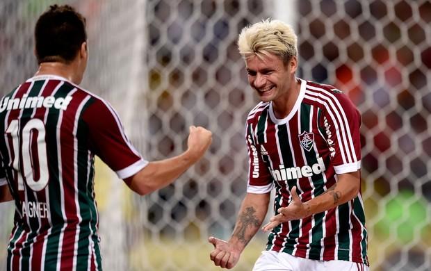 Rafael Sóbis Fluminense x Goiás (Foto: Getty Images)