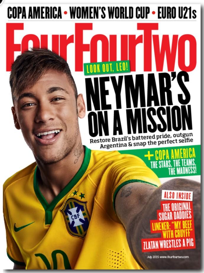 Neymar revista FourFourTwo
