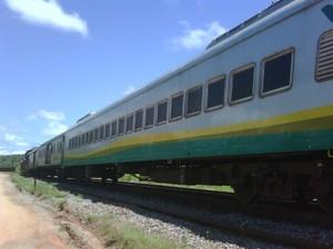 Trem da Vale (Foto: Sidney Pereira)