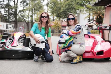 Juliana Sana e Bia Figueiredo (Foto: TV Globo)