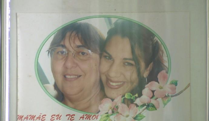 Arquivo pessoal; Beth Pitbull Correia; Tiana Correia  (Foto: Reprodução / TV Paraiba)