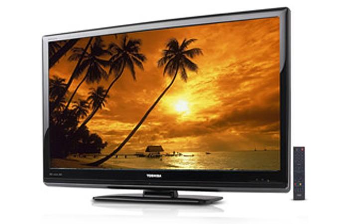 LCD Semp Toshiba tem tela grande, mas nenhuma entrada USB (Foto: Divulgação)