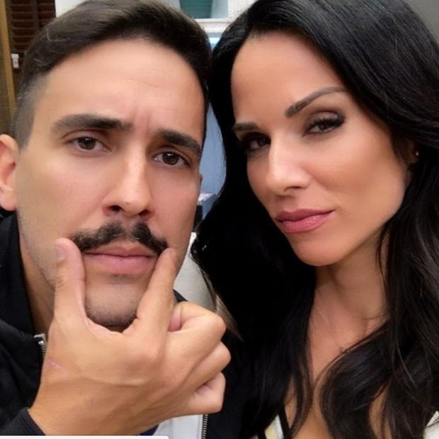André Marques e Ana Furtado (Foto: reprodução/Instagram)