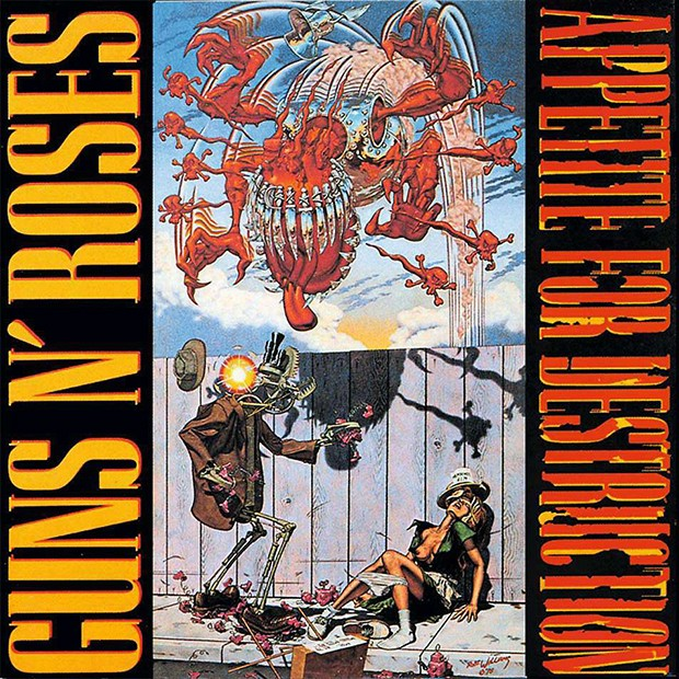 Appetite For Destruction – Guns N' Roses (Foto: Divulgação)