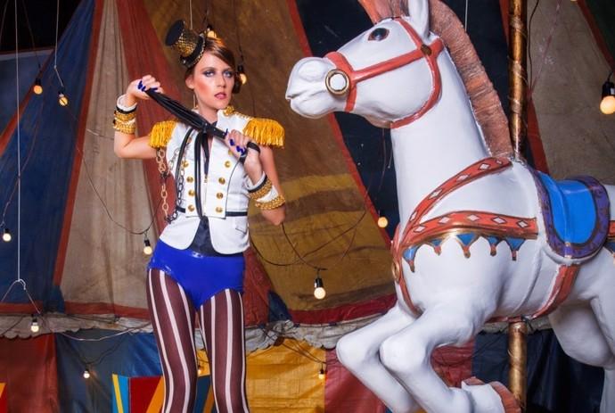A personagem Clara também arrasou no concurso (Foto: TV Globo)