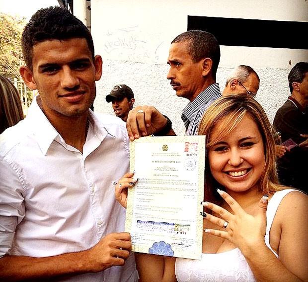 Jadson casamento certidão (Foto: Divulgação / Arquivo Pessoal)